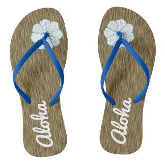 Aloha Hawaii Cruise Beach Flip Flops Sandals Gift