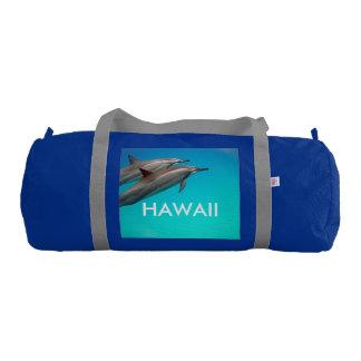 Aloha Hawaii Dolphin Bag Gym Duffel Bag