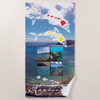 Aloha Hawaii Hanauma Bay Beach Towel