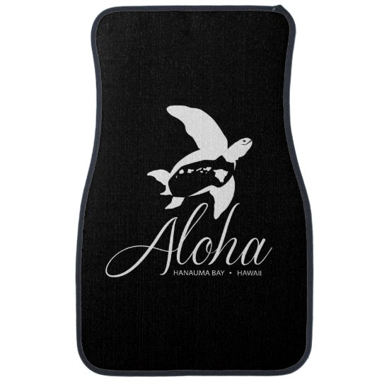 Aloha Hawaii Islands Car Mat
