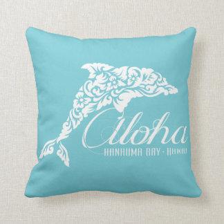 Aloha Hawaii Islands Dolphin Cushion