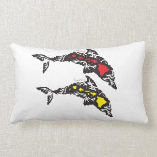 Aloha Hawaii Islands Dolphin Lumbar Cushion