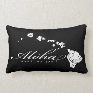 Aloha Hawaii Islands Lumbar Cushion