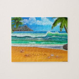 Aloha Hawaii Jigsaw Puzzle