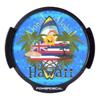 Aloha Hawaii LED Car Window Decal