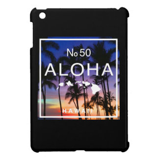 Aloha Hawaii No. 50 State Sunset iPad case