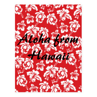 Aloha Hawaii Postcard
