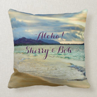 Aloha Hawaii Scenic Coast Cushion