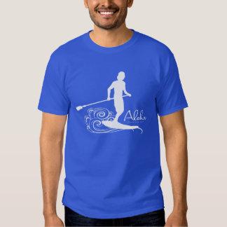 Aloha - Hawaii Stand Up Paddling Tee Shirt