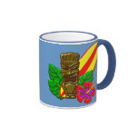 Aloha Hawaii Surfer Coffee Mug