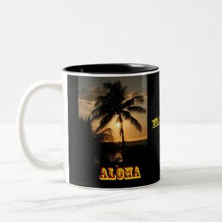 Aloha Hawaii Two-Tone Mug