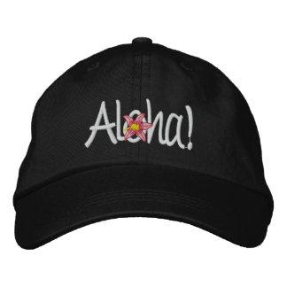 Aloha Hawaiian Embroidered Cap