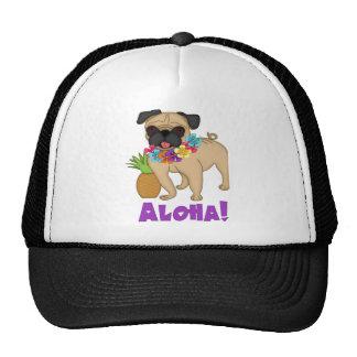 Aloha! Hawaiian Luau Pug and Pineapple Tees, Gifts Hat