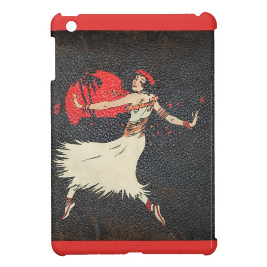 Aloha Hawaiian Luau Tropical Vintage Hula Girl iPad