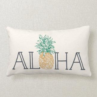 Aloha Hawaiian Pineapple Lumbar Cushion