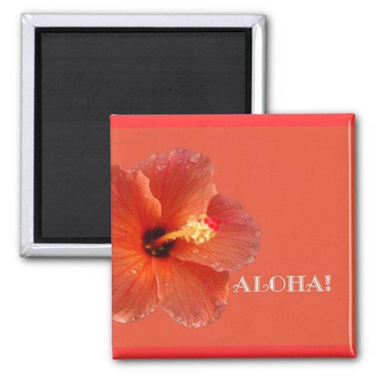 Aloha! Hibiscus Magnet
