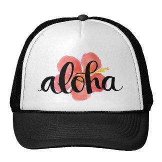 Aloha Hibiscus Trucker Hat