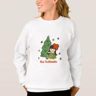 Aloha Honeys Christmas Hawaiian Hula Girl Shirts