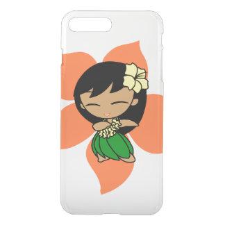 Aloha Honeys Hawaiian Papaya Hibiscus Hula Girl iPhone 7 Plus Case