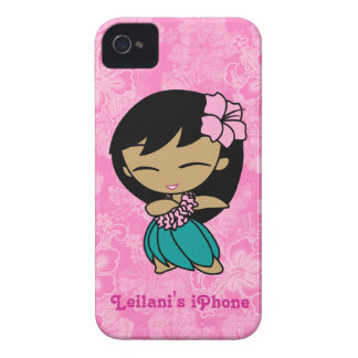 Aloha Honeys Hula Girl Barely There iPhone 4 Case