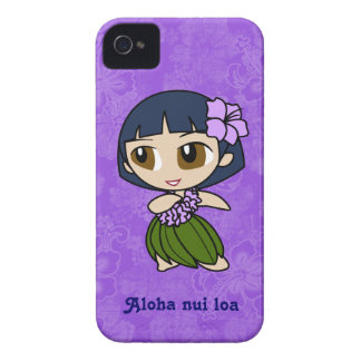 Aloha Honeys Hula Girl Barely There iPhone 4 Case