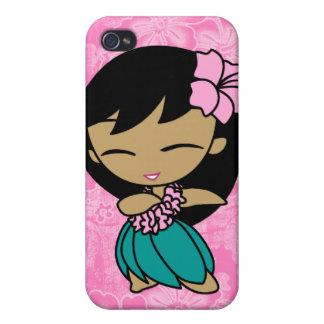 Aloha Honeys Hula Girl Hibiscus  iPhone 4/4S Cover