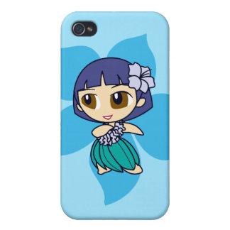 Aloha Honeys Hula Girl iPhone 4 Covers