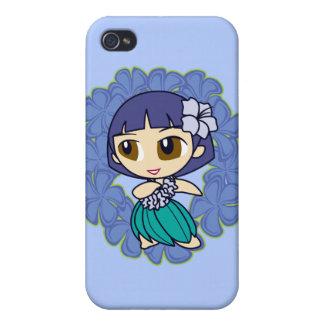 Aloha Honeys Hula Girl  iPhone 4 Case