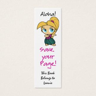 Aloha Honeys Skinny Bookmark Cards
