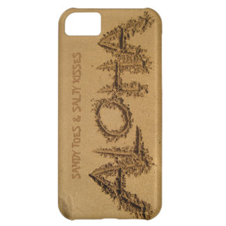 ALOHA iPhone, Sandy Toes & Salty Kisses iPhone 5C Case