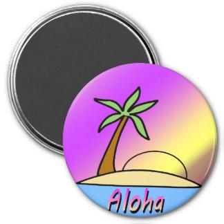 Aloha Island Refrigerator Magnet