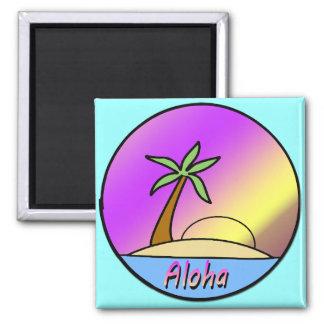 Aloha Island Fridge Magnets