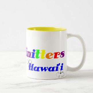 Aloha Knitters Rainbow Mug