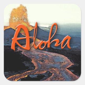 Aloha Lava Sticker
