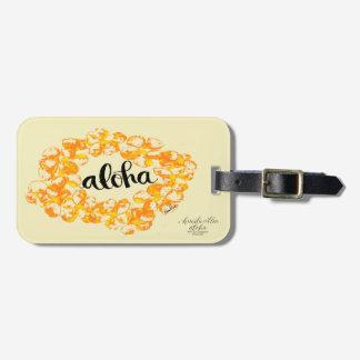 Aloha Lei Bag Tags
