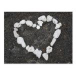 Aloha * Love * Coral Heart - Customisable! Post Cards
