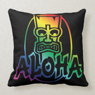 Aloha Mahalo Pillow by Mini Brothers
