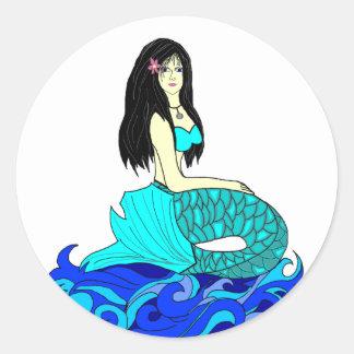 Aloha Mermaid stickers