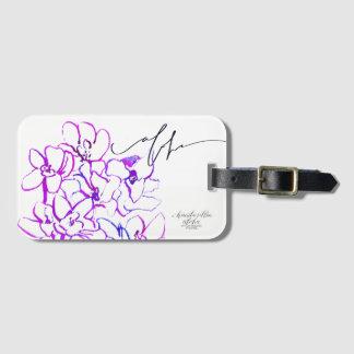 Aloha Orchid Luggage / Bag Tag