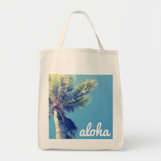 Aloha Palm Tote Bag