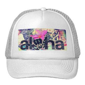 Aloha Paradise Trucker White Out Cap
