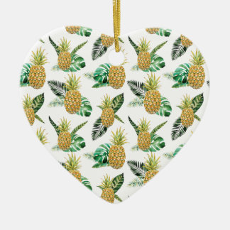 Aloha Pineapple Christmas Ornament