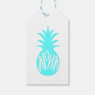 Aloha Pineapple Gift Tags
