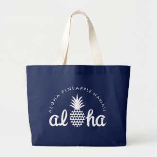 aloha pineapple hawaii bag