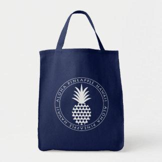 aloha pineapple tote