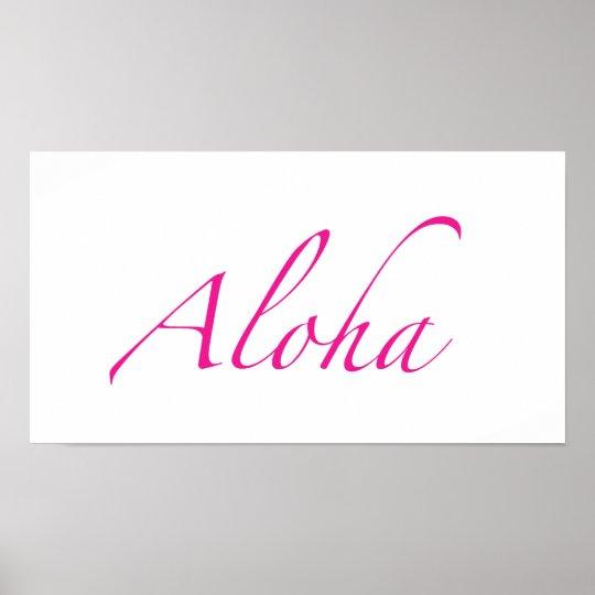 Aloha Posters & Prints