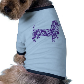 Aloha Purple Doxie Dachshund Pet Clothes
