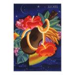 Aloha Save the Date Tropical Night Hawaiian Hawaii 9 Cm X 13 Cm Invitation Card