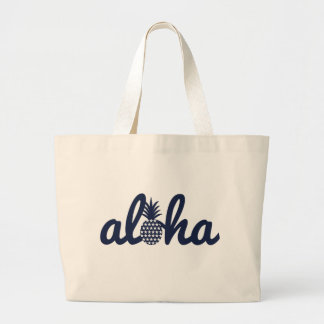 aloha (star) 018 large tote bag