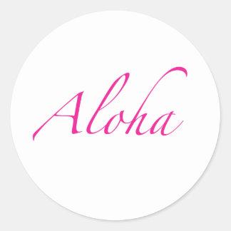 Aloha Sticker